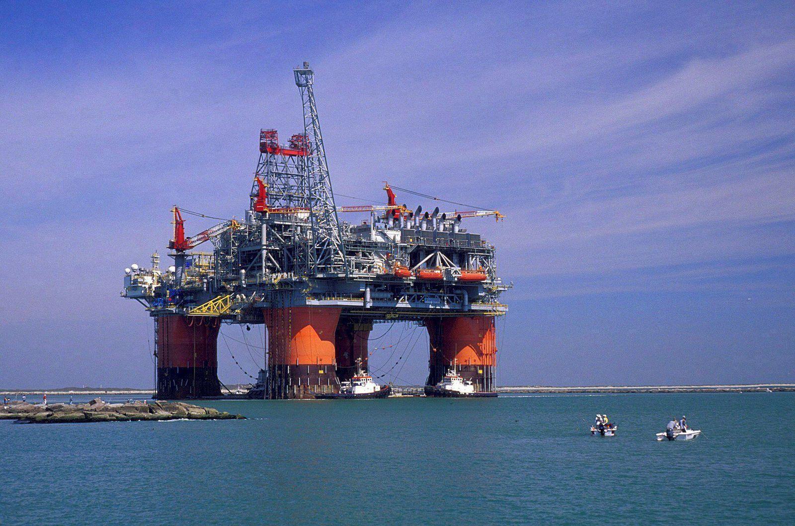 BP Bohrinsel / Golf von Mexiko