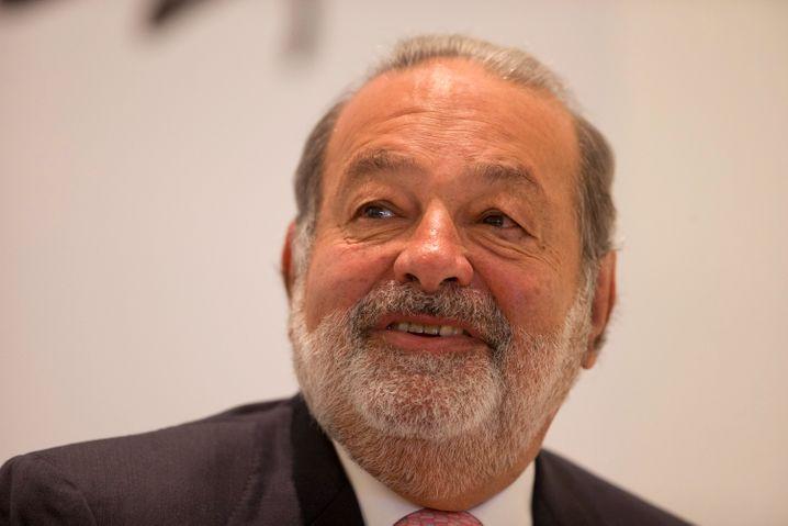Carlos Slim, der Man hinter den Unternehmen Telmex und América Móvil. Und der fünftreichste Mann der Welt, zumindest derzeit
