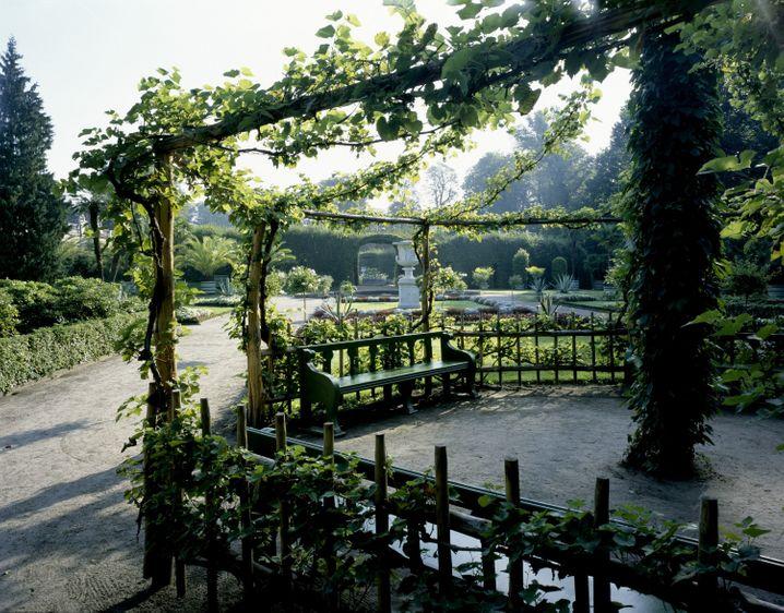 Alternative zum bekannten Schlossblick in Sanssouci: Im Sizilianischen Garten herrscht südländisches Flair.