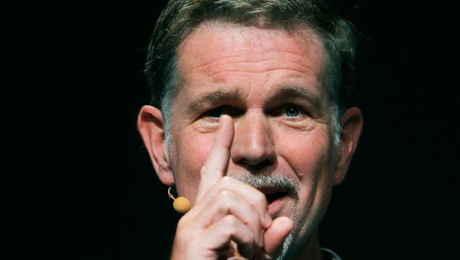 Her mit dem Geld: Reed Hastings will den Kapitalmarkt für neue Serien anzapfen