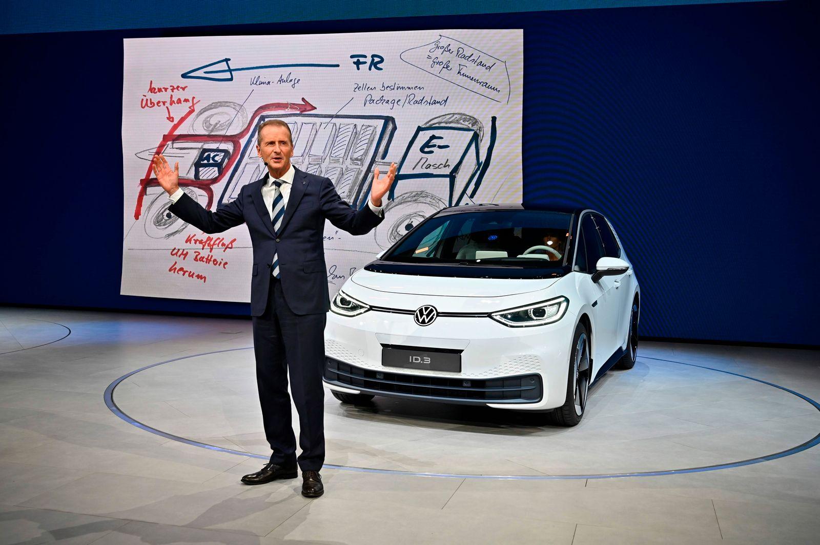 Herbert Diess / Volkswagen / ID.3