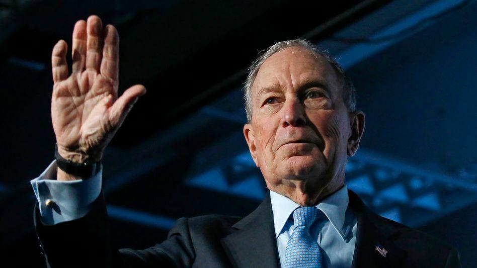 Verägert: Multimilliardär Mike Bloomberg