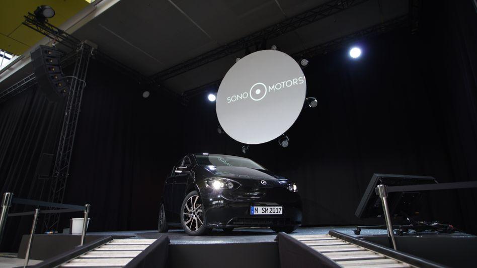 Elektroauto Sion von Sono Motors