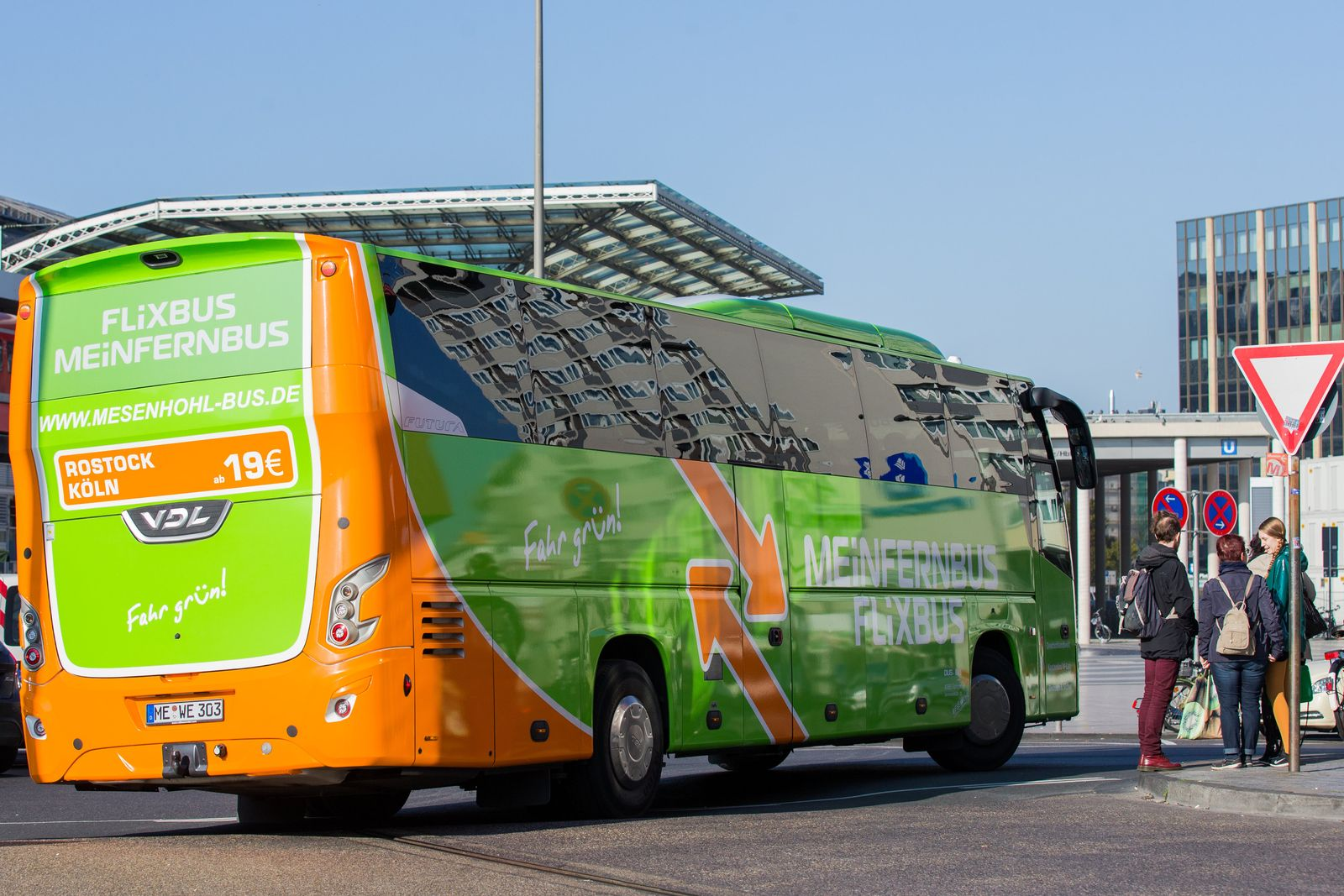 Fernbus in Köln