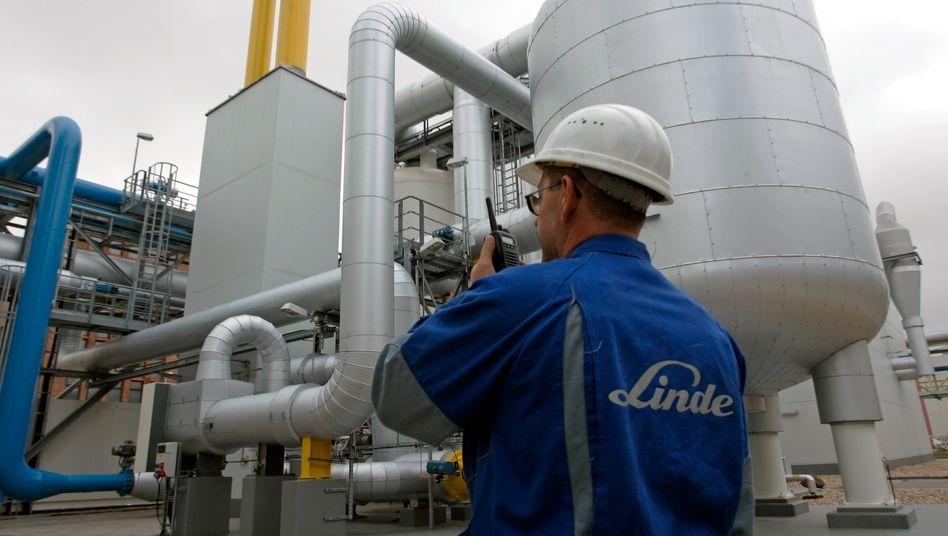 Linde in Leuna: Gewinnanstieg um 6,2 Prozent im ersten Quartal 2012