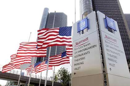 Hiobsbotschaften: General Motors, hier die Zentrale in Detroit, hat erneut Probleme mit seiner Bilanz