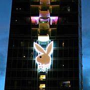 Playboy-Logo: Bereits am Donnerstag war die Aktie um 41 Prozent in die Höhe geschossen