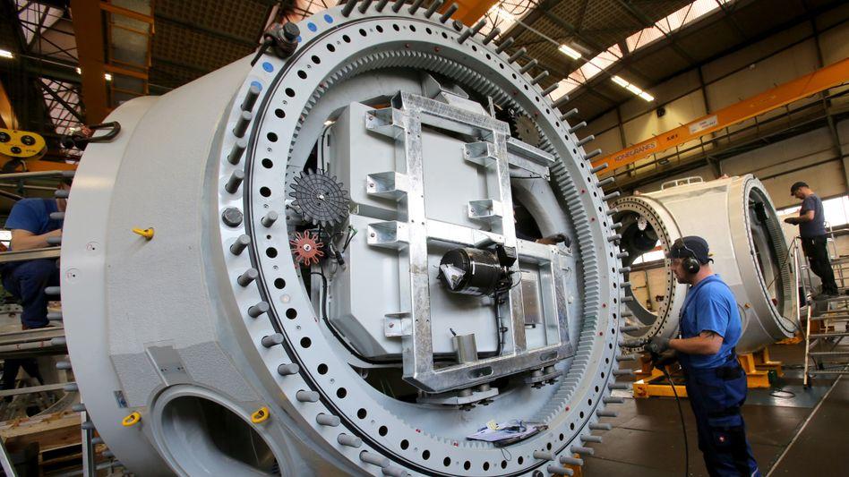 Maschinenbau: Die Hilfsmaßnahmen der EZB haben die Stimmung der Finanzmarkt-Akteure verbessert