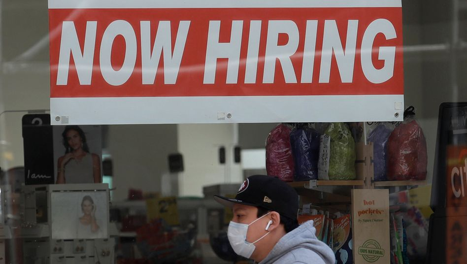 US-Arbeitsmarkt: Die zweite Woche in Folge melden sich mehr Menschen in den USA arbeitslos, offenbar schreitet die Erholung langsamer voran als erwartet