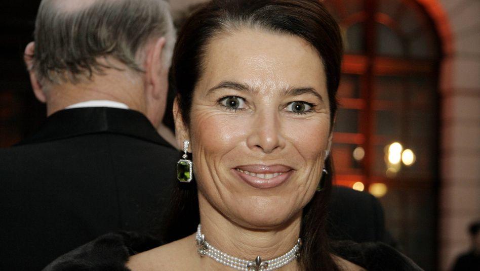 Kämpferin: Katrin Haub, Ehefrau des verschollenen Karl-Erivan Haub.