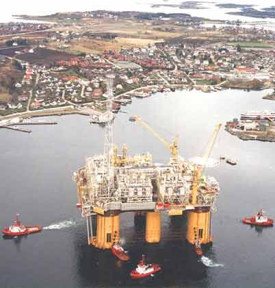 Erdgas-Plattform in Norwegen: Eon will den eigenen Gasbezug erhöhen