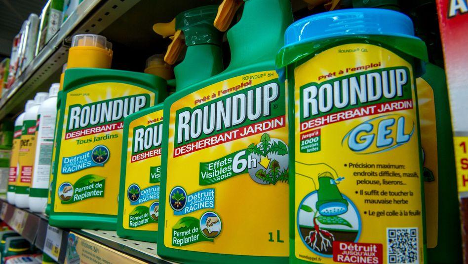Umstrittener Unkrautvernichter Roundup