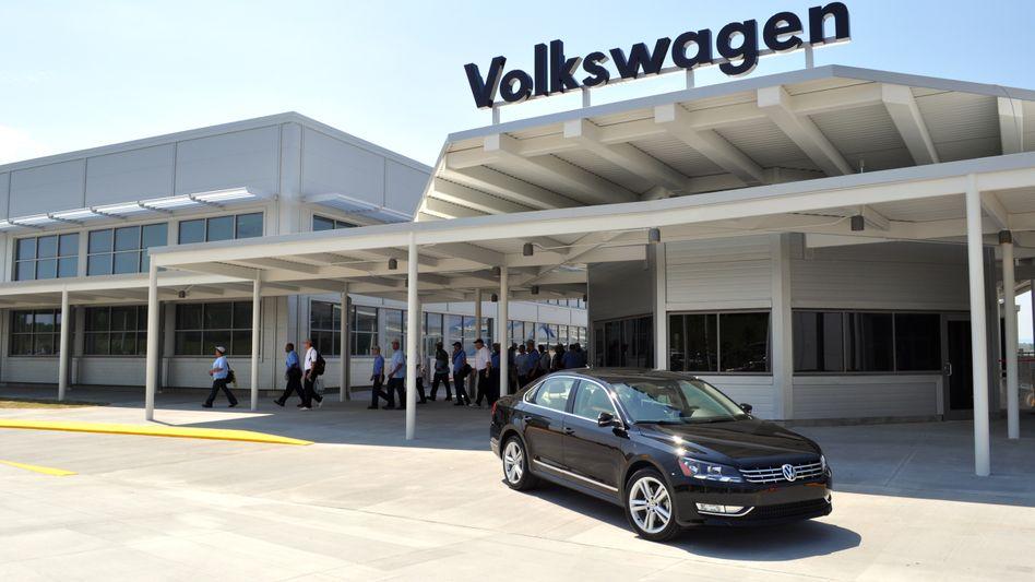 VW-Werk in Chattanooga: Hier soll eine speziell für den US-Markt entwickelte Variante des Passat gebaut werden