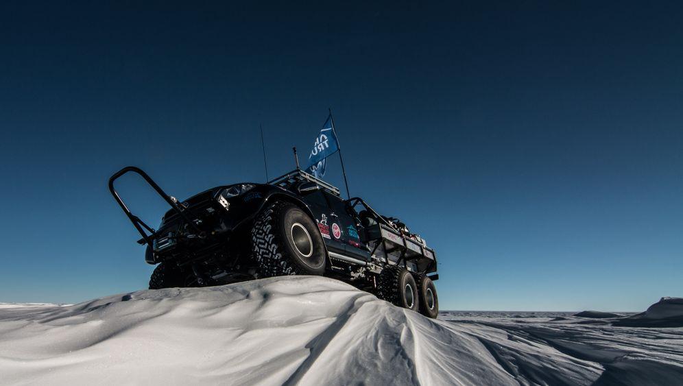 Luxusreise an den Südpol: Mit dem Truck ans untere Ende der Welt