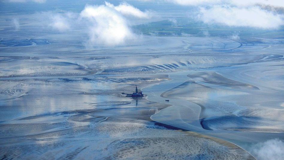 Stillleben:Die Aussichten für das Bohrbusiness sind mäßig - das gilt auch für die Plattform im Wattenmeer