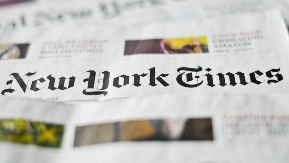 """Eine amerikanische Institution: Die """"New York Times"""" zählt zu den angesehensten Zeitungen der Welt - jedenfalls außerhalb des Weißen Hauses."""