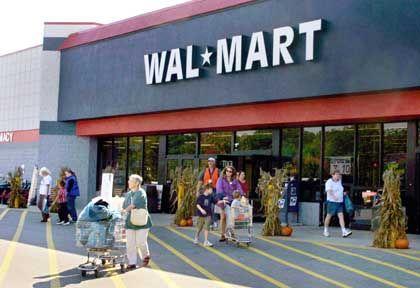 Eine von vielen: Wal-Mart-Filiale in Scarborough, Maine