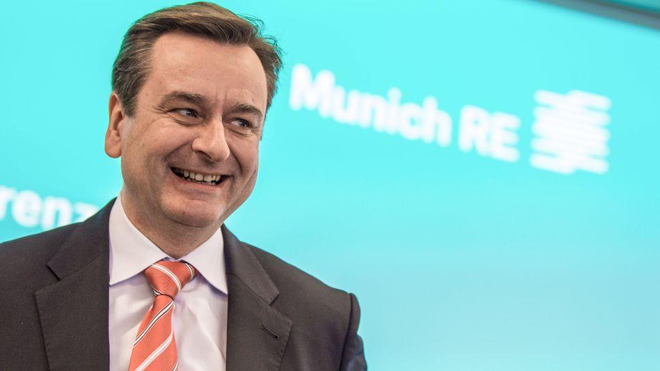 Joachim Wenning, Vorstandschef der Münchener Rück, ist von Next Insurance überzeugt