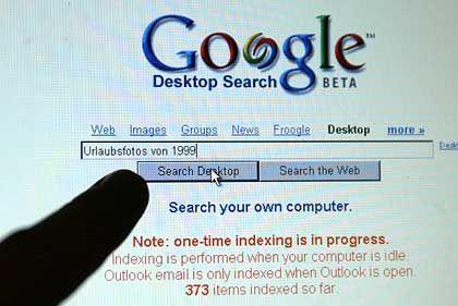 Google-Feature: Die Desktop-Suche