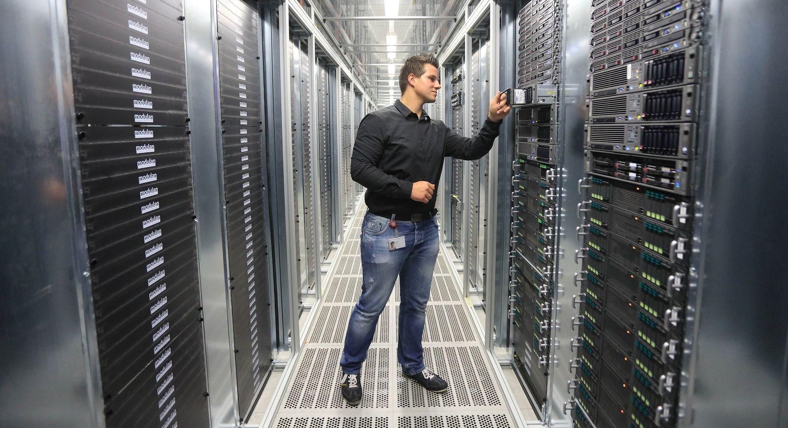 Telekom-Rechenzentrum T-Systems