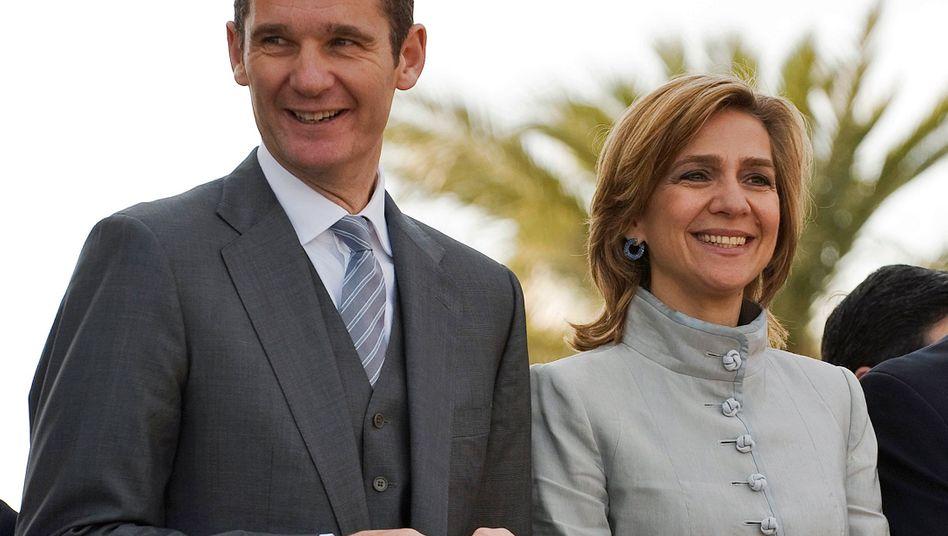 Iñaki Urdangarin und Cristina: War die Infantin in die Machenschaften ihres Mannes verstrickt?