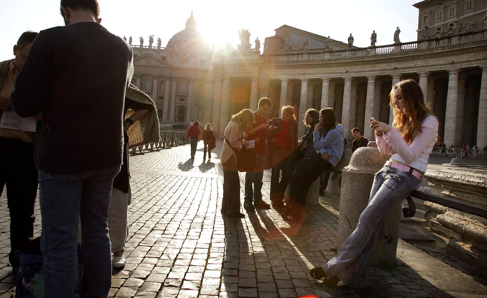 Italien / Rom / Touristen