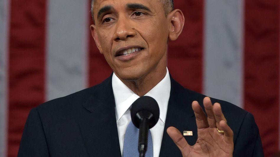 """Barack Obama bei der """"State of the Union"""": Wieder in der Spur"""