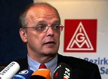 Widerstand gegen Zerschlagung: IG-Metall-Mann Meine