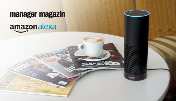 Werbung manager magazin auf amazon alexa - rebrush 2018