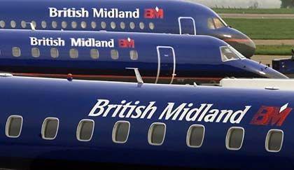 Demnächst Teil der Lufthansa: Flugzeuge von British Midland