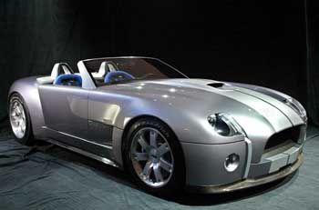 Brachial: Das Design der Studie Shelby Cobra sendet starke Signale - Eleganz ist etwas für Langsame