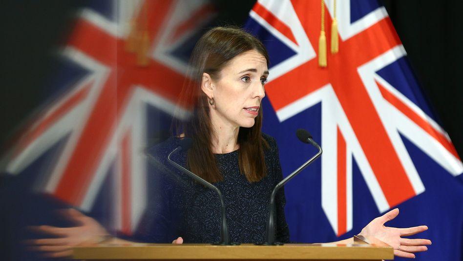 Jacinda Ardern, Premierministerin von Neuseeland