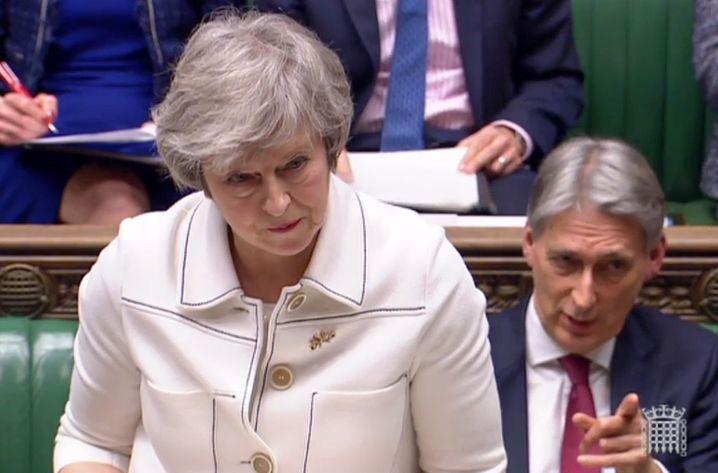 Hat Sie einen Plan B? Theresa May hat bislang keine Mehrheit für den mit der EU ausgehandelten Austrittsvertrag