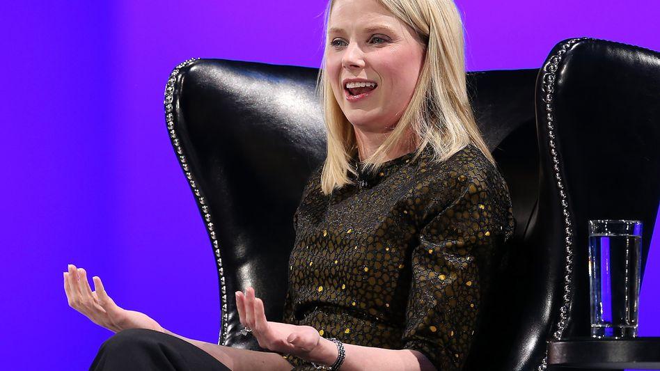 Würde auch bei einer Filetierung Yahoos gut verdienen: Marissa Mayer