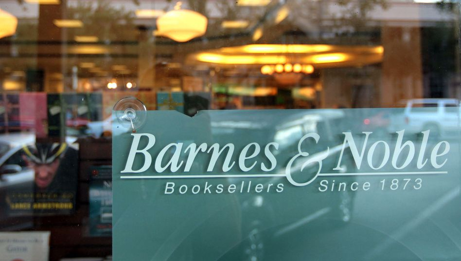 In der Krise: Nach dem Abgang von William Lynch sucht Barnes & Noble einen neuen Chef