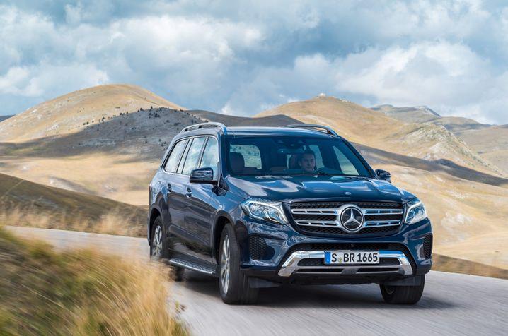 Daimler: Im boomenden US-Markt profitieren deutsche SUV weniger stark