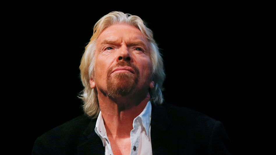 Will hoch hinaus: Virgin-Galactic-Chef Richard Branson