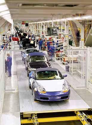 Porsche-Produktion in Valmet: Stetig bergab