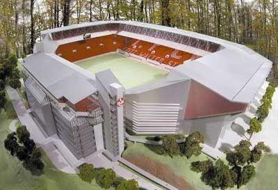 """Kaiserslautern: Das """"Fritz-Walter-Stadion"""" wurde 1920 erbaut"""