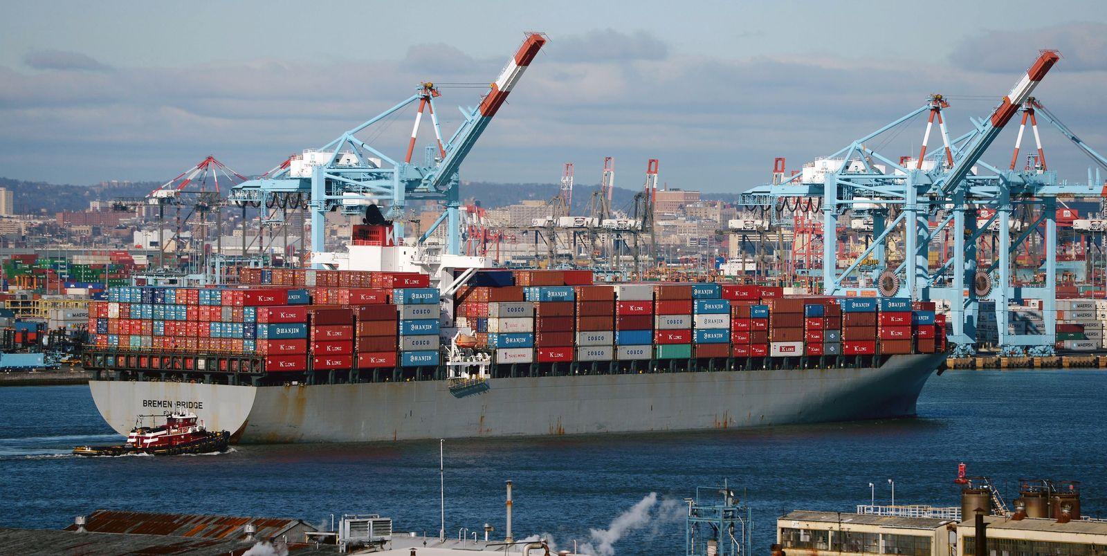 Deutschland / USA Export / Import / Konjunktur / Handel EU