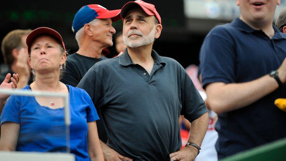 Baseball-Fan und Anhänger der Washington Nationals: Ex-Notenbankchef Ben Bernanke gilt als möglicher neuer Mann an der Spitze der MLB