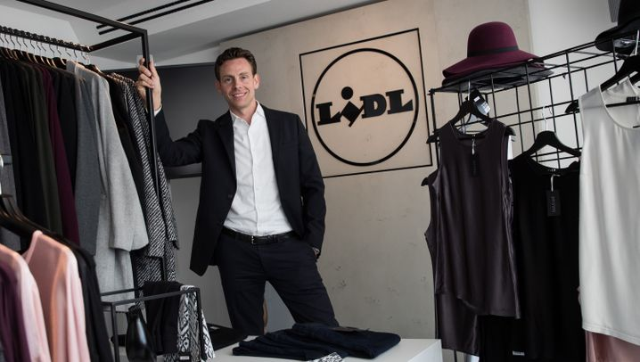 Edelladen von Lidl: Pop-Up-Store am Neuen Wall in Hamburg