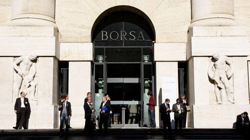 Mailänder Börse: Rendite italienischer Staatsanleihen sinkt stark
