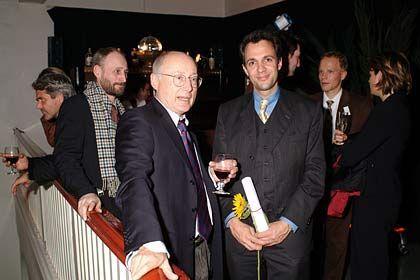 Prominenz: SPIEGEL-Chefredakteur Stefan Aust (l.) und Hamburgs Wissenschaftssenator Jörg Dräger