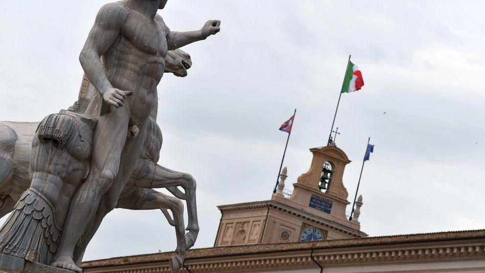 Italien im Blick: Wie kommt das Land durch die Regierungskrise - und was wird die EZB tun?