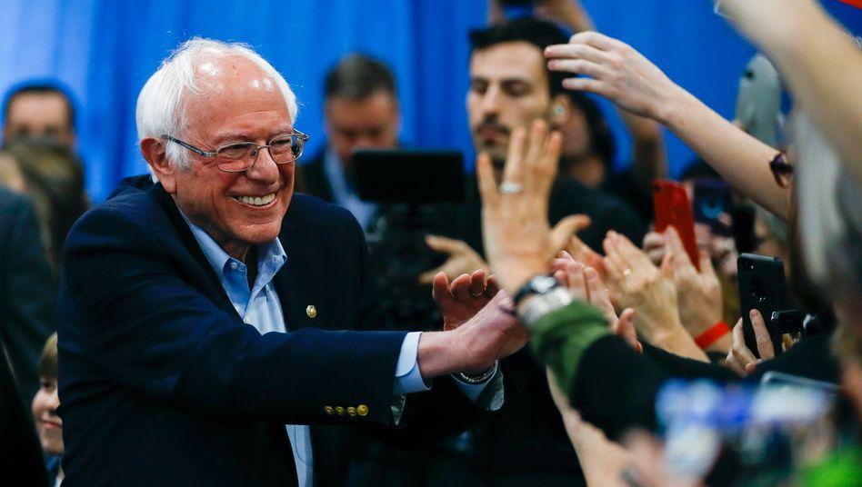 Vor dem Rückzug? US-Präsidentschaftsanwärter Bernie Sanders musste zuletzt Niederlagen einstecken.
