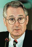 Zuversicht in Person: Postchef Klaus Zumwinkel
