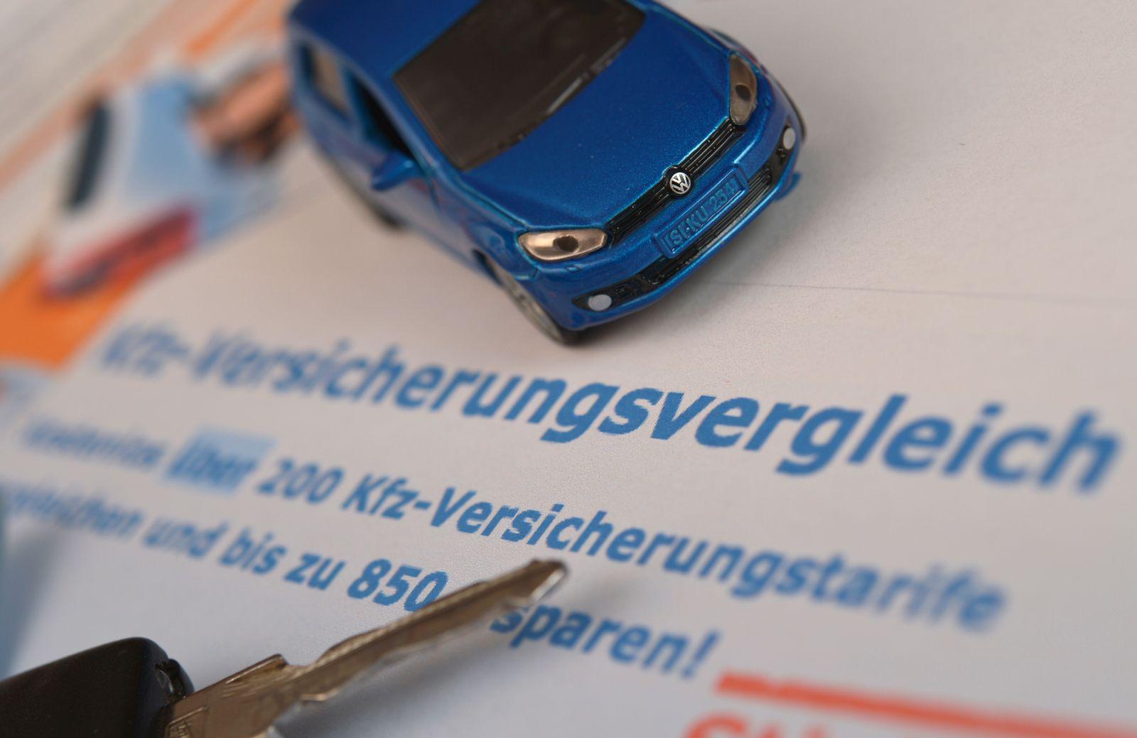 Vergleichsportal Autoversicherungen / Preisvergleich-Portale im Internet