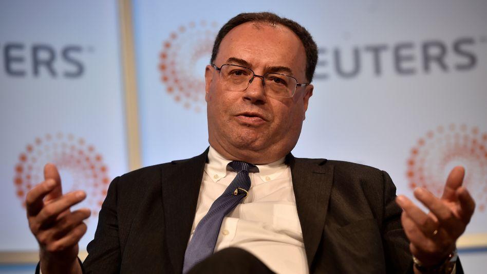 Setzte sich gegen auch gegen zwei Frauen durch: Andrew Bailey wird Chef der britischen Notenbank