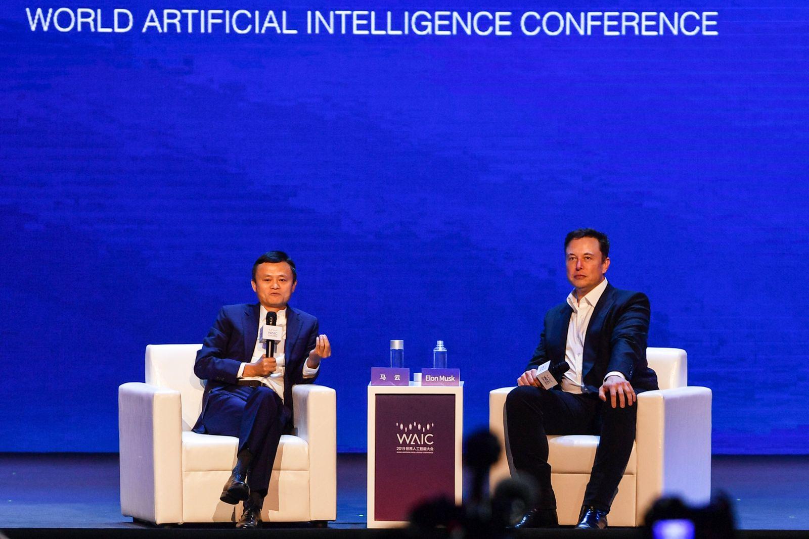 Jack Ma / Elon Musk